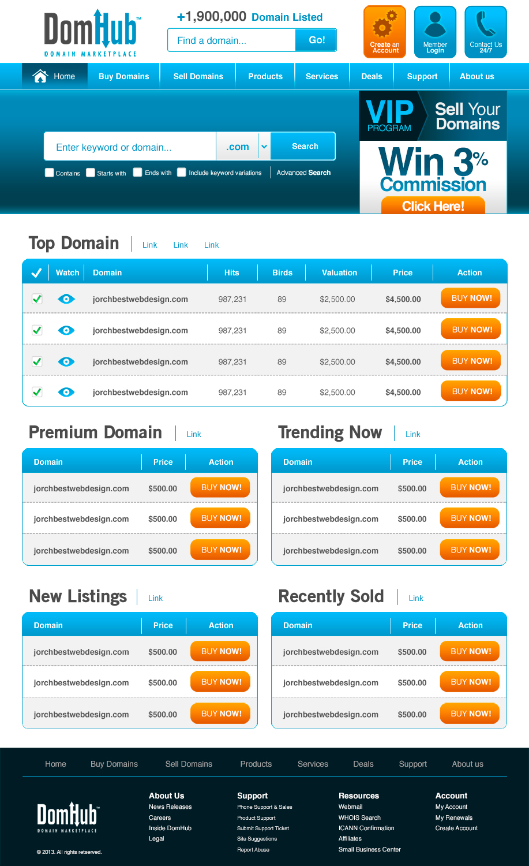 Elegant Playful Domain Web Design for Maxton Technology
