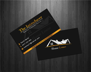 67 Modern Upmarket Loan Business Card Designs For A Loan Business