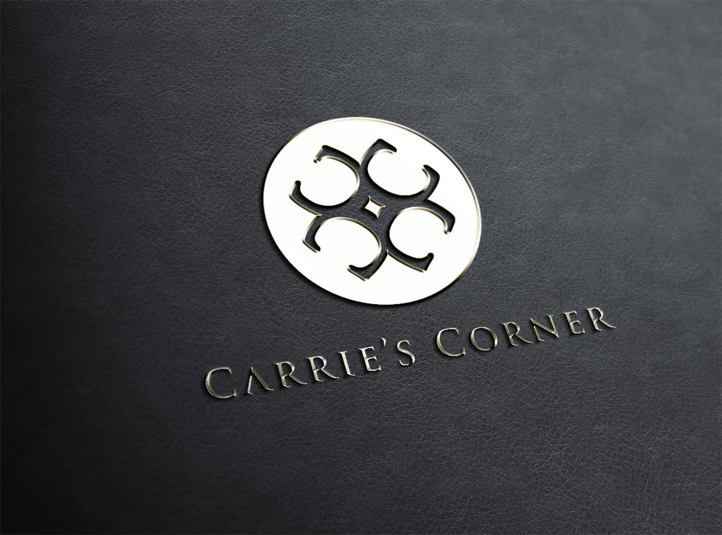 Elegant Playful Jewelry Logo Design for Carries Corner