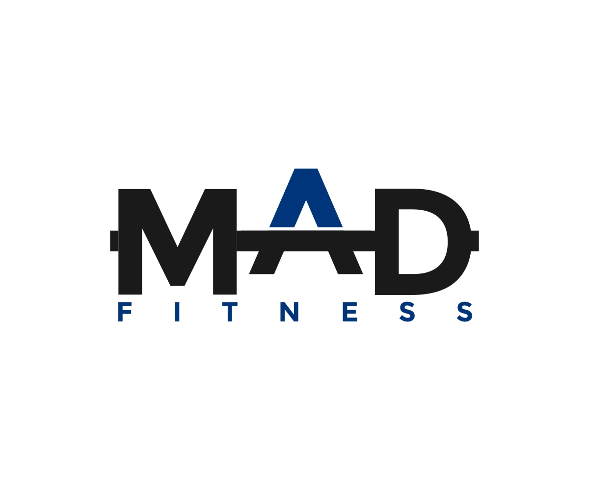 Modern, Bold, Club Logo Design for MAD FITNESS by simbah