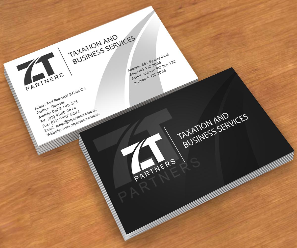 Business Card Design For Toni Petrovski By Andre Design