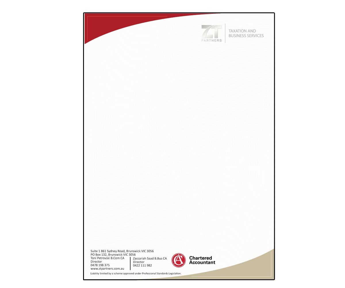 Business Letterhead Design for a Company by puneetnebula  Design 3305406