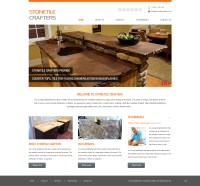 Tile Web Design for stone-tile crafters by pb | Design ...