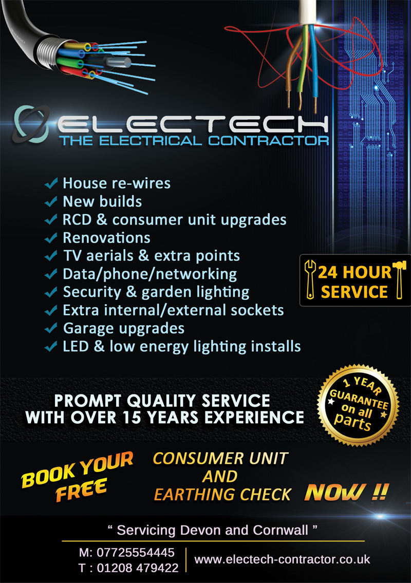 Professional Serious Contractor Flyer Design For A