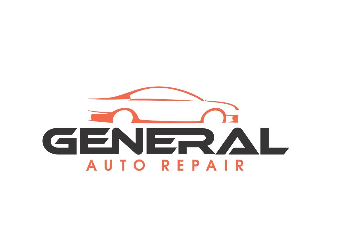 Auto Repair Logo Design for General Auto Repair by