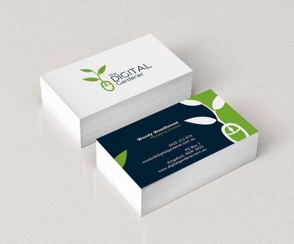 Bold Modern Education Business Card Design