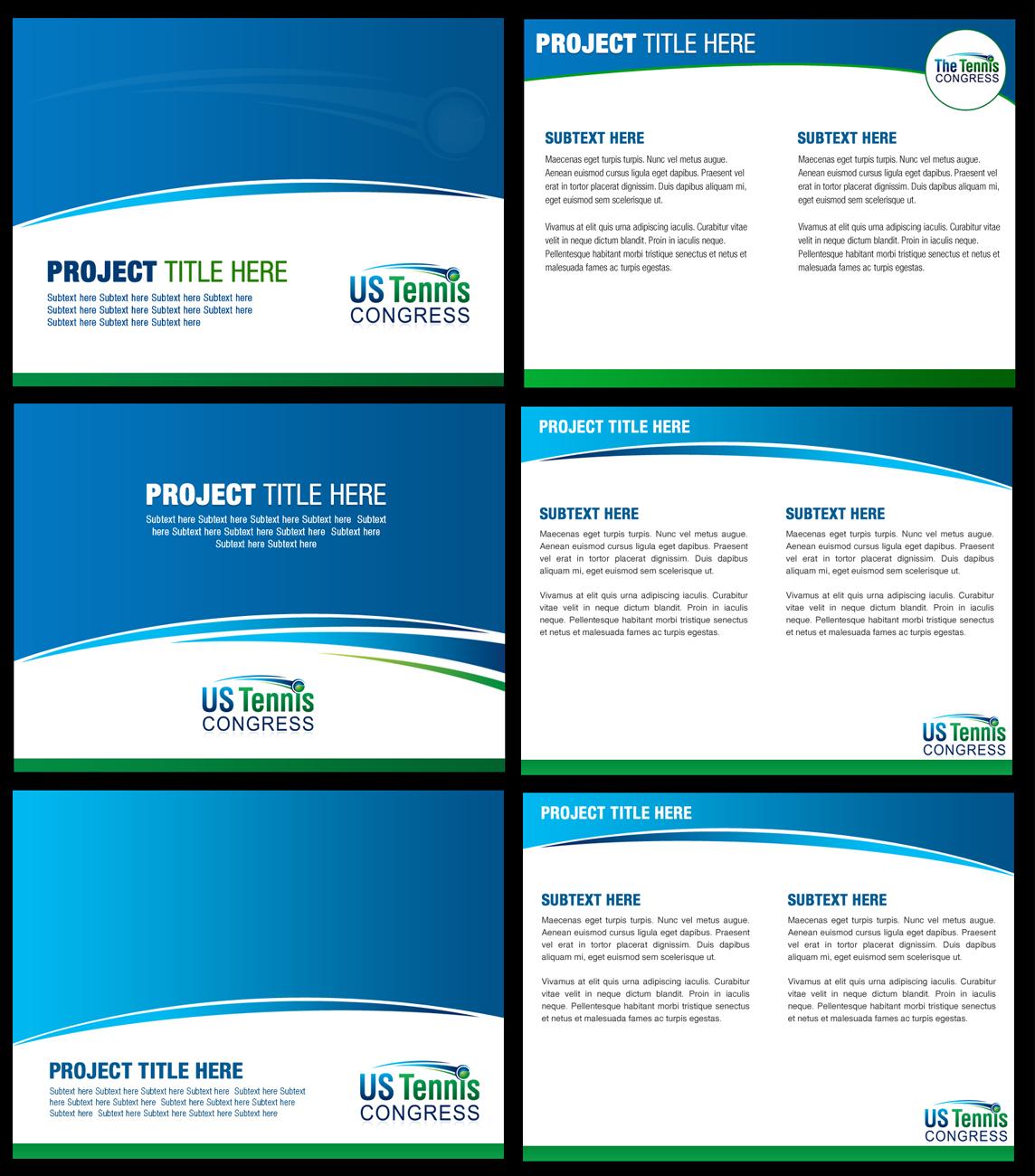 Powerpoint Design By Best Design Hub For Us Tennis Congress   Design  #3839801