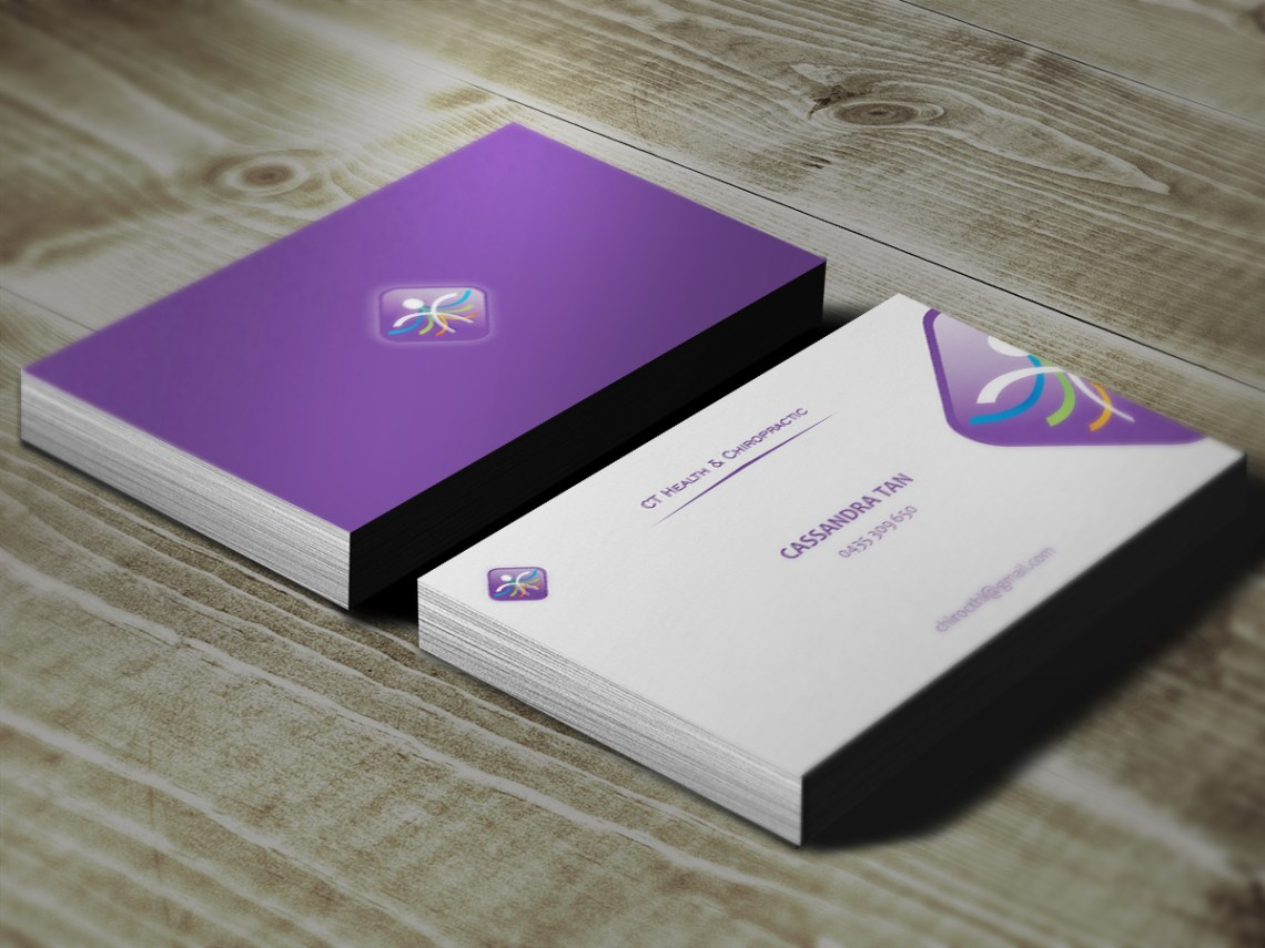 Modern, Colorful, Business Name Card Design for a Company ...