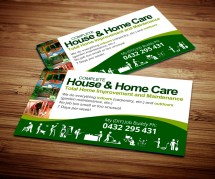 Home Improvement Business Card Designs
