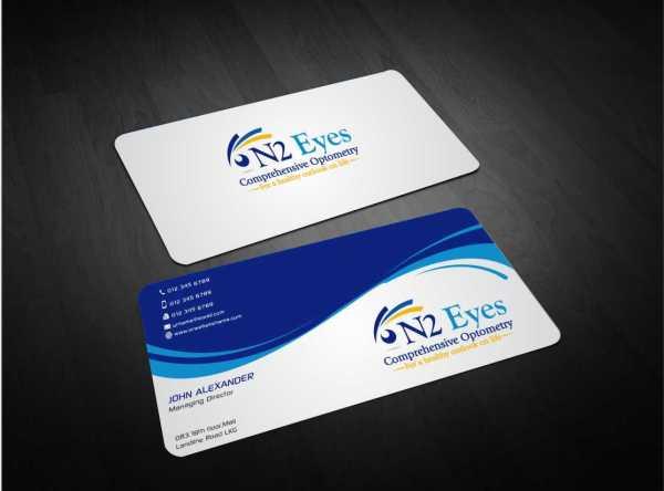 Education Business Card Design Company