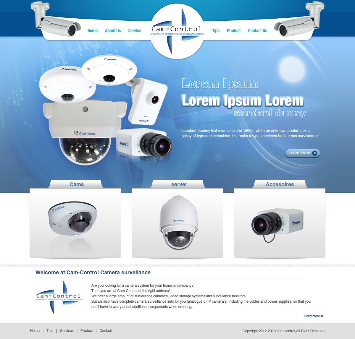 Elegant Playful Security Web Design for Geert Verschueren by Creative Usha  Design 1180396