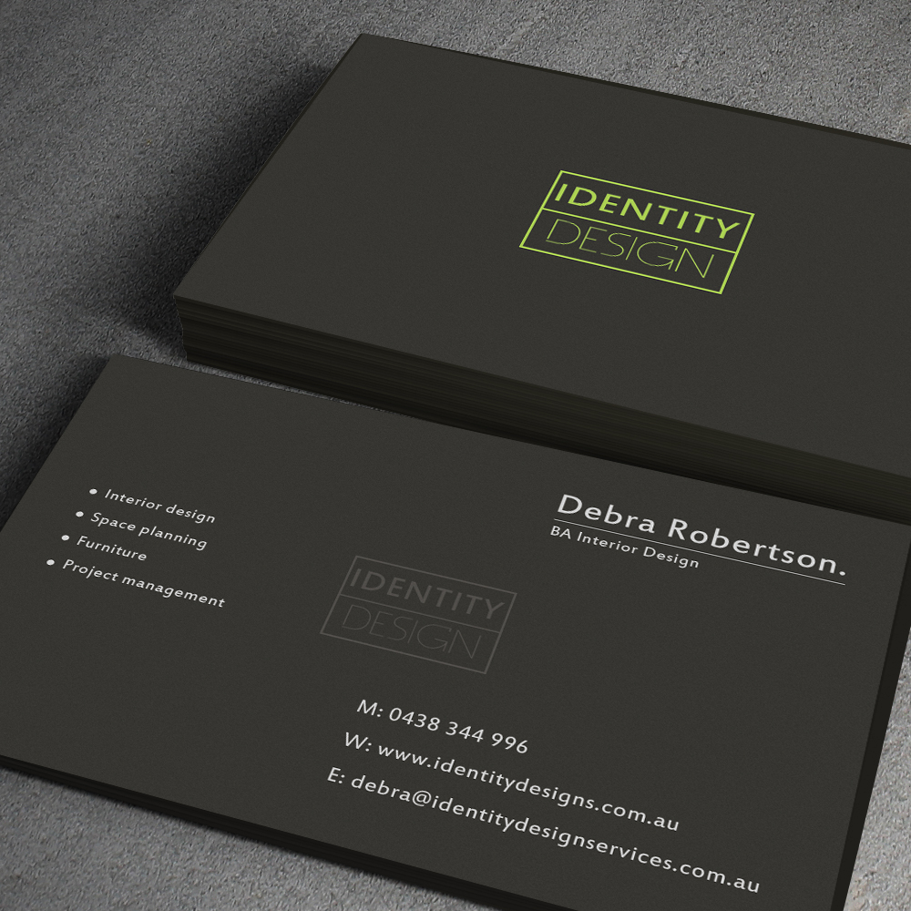 Modern Conservative Construction Business Card Design for a Company by junaid ahmad  Design