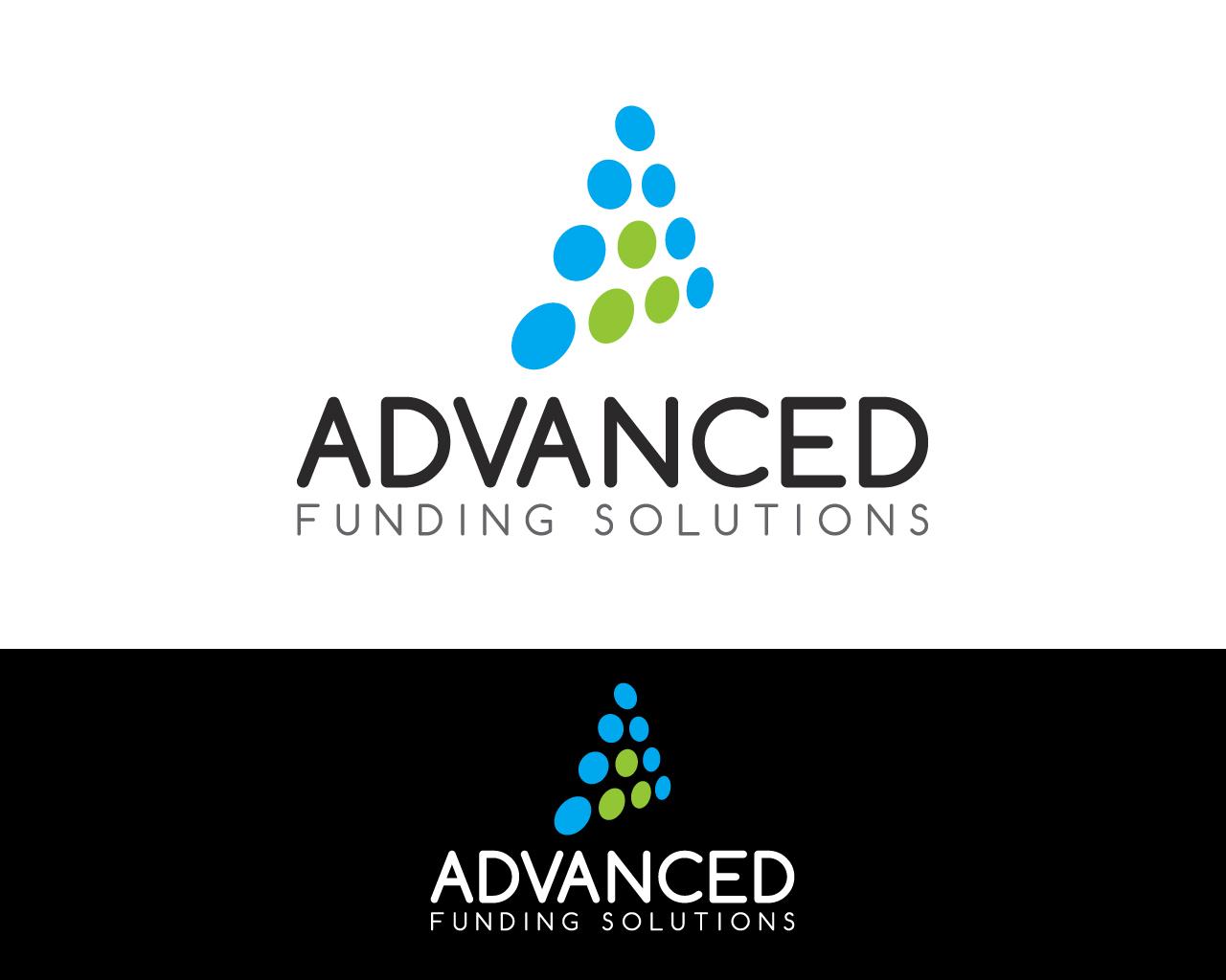 Elegante, Juguetón, Financial Diseño de Logo for Advanced