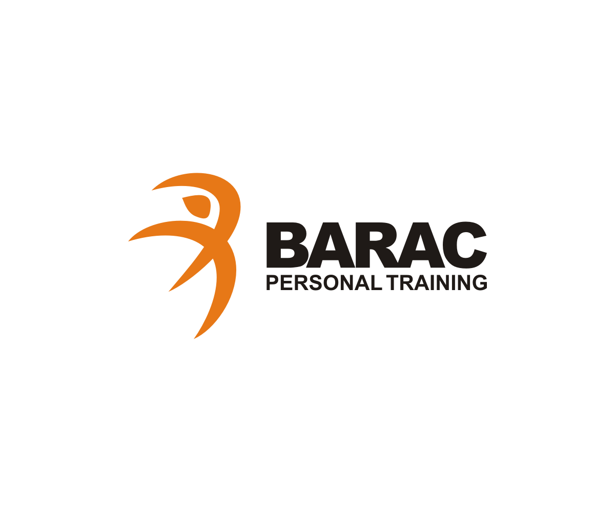 Personal Trainer Logo Design for BARAC PERSONAL TRAINING