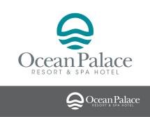 Professional Hotel Logo Design Ocean Palace