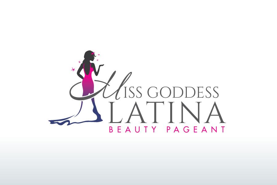 Serious, Modern Logo Design for Miss Goddess Latina