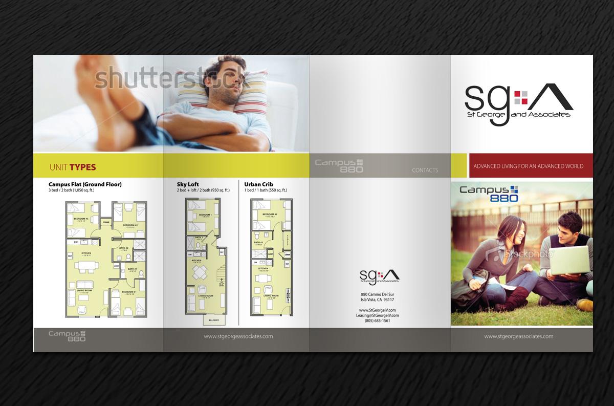Bold Modern Brochure Design For Edward Stgeorge By Phobos