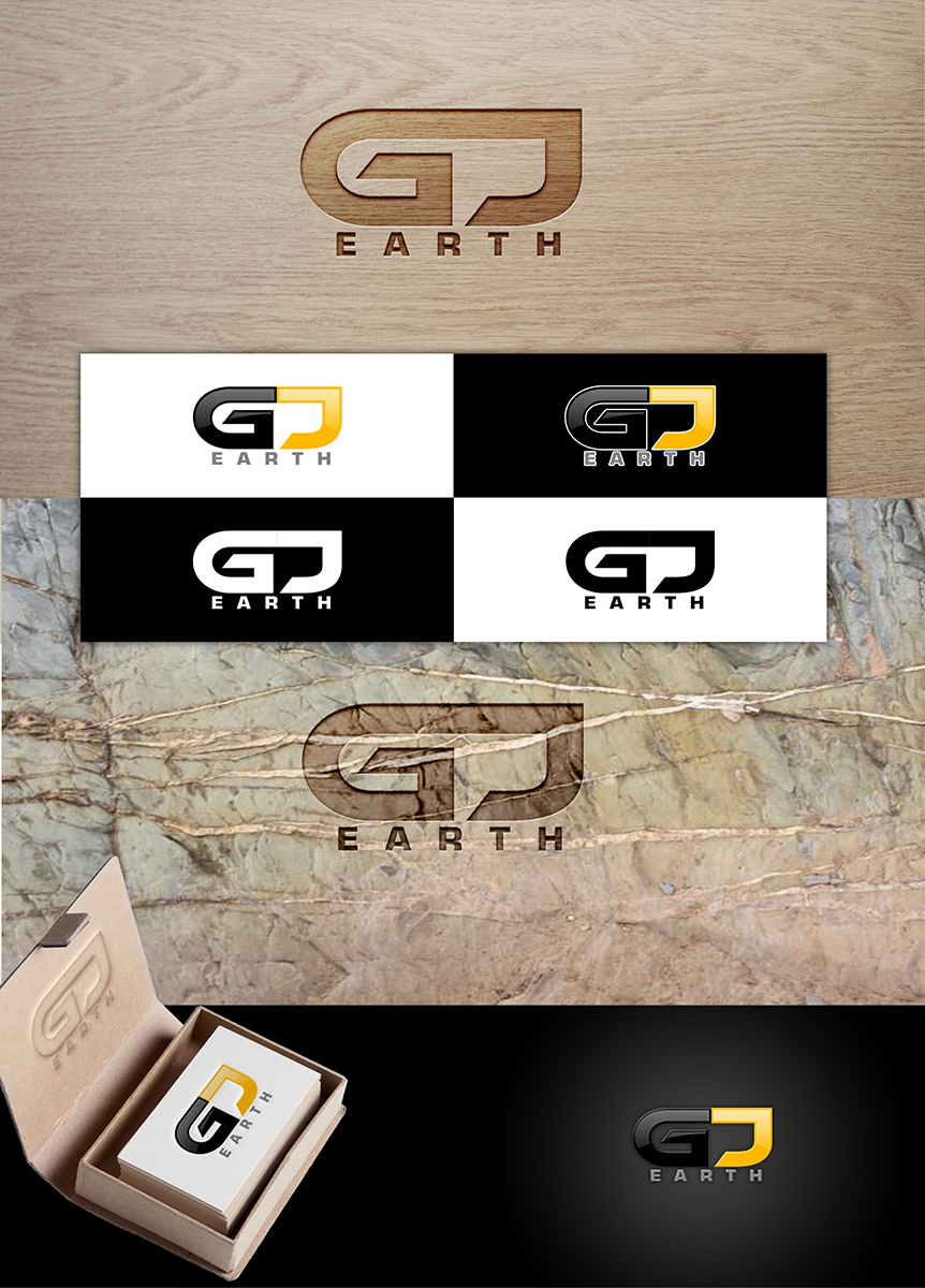 Elegant Playful Business Logo Design for GJ Earth by