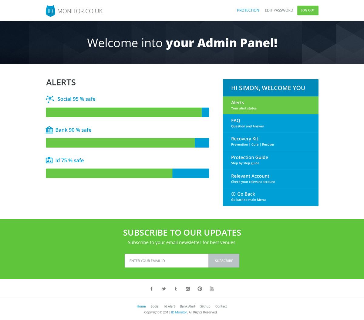 Domain Web Design for Application Link LTD by Hashim