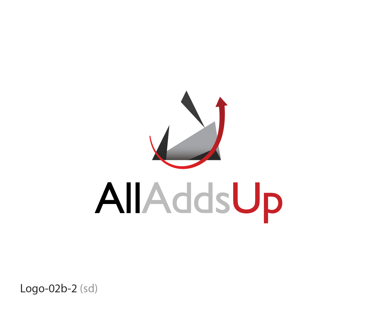 Small Business Logo Design for All Adds Up by Esolbiz