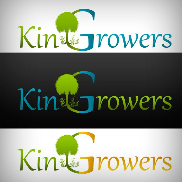 Nursery Logo Design King Growers . Ascaron