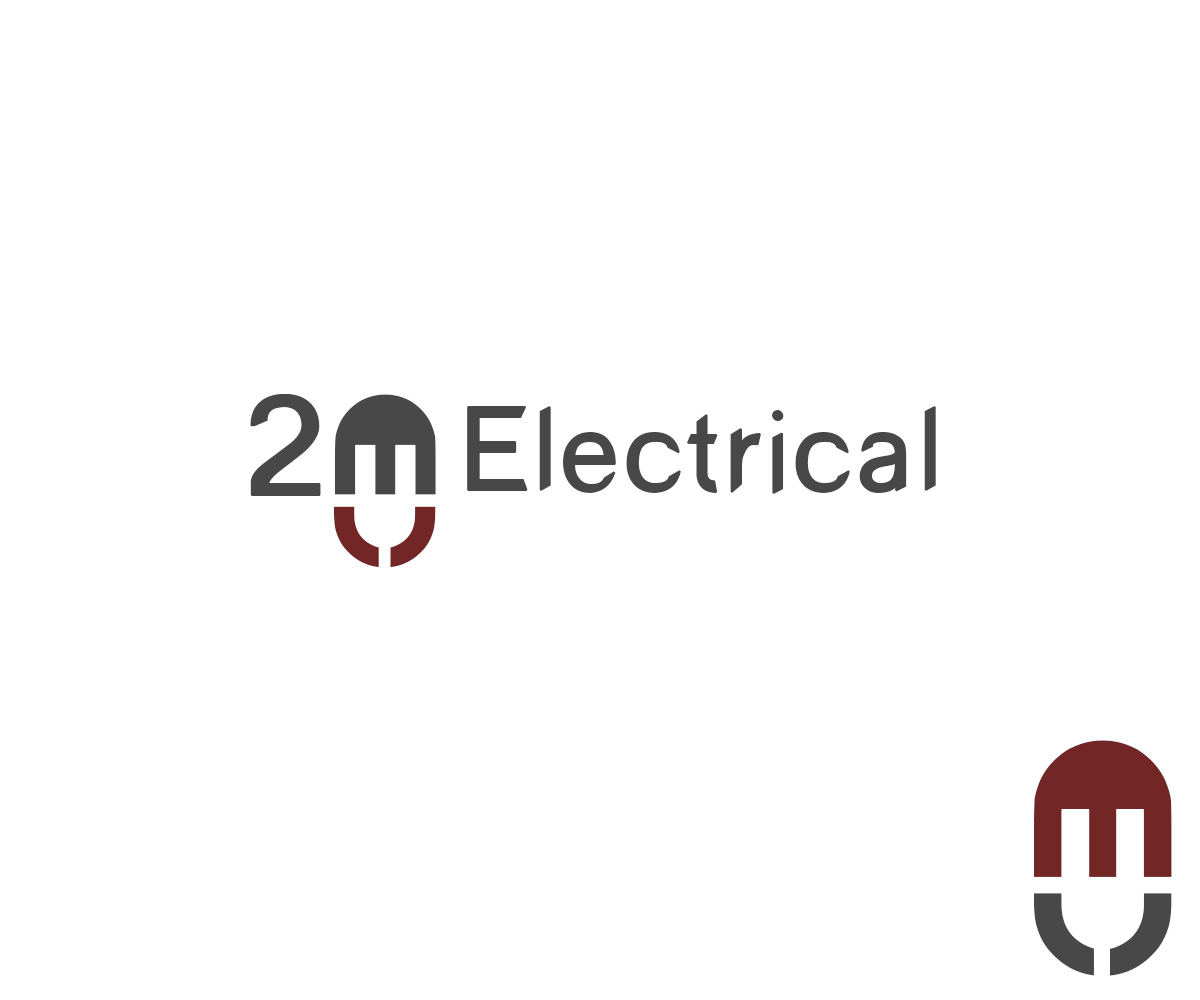 Electrician Logo Design For 2m Electrical By Askleo