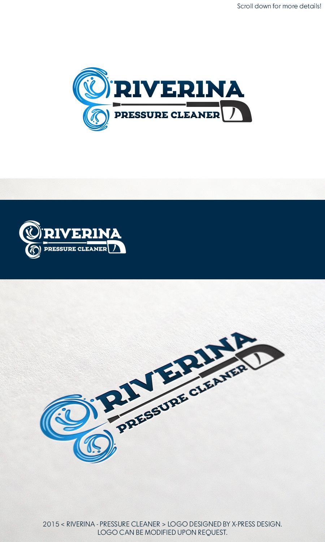 Logo Pressure Washing : pressure, washing, Pressure, Washing, Design, Designs, Riverina, Cleaner