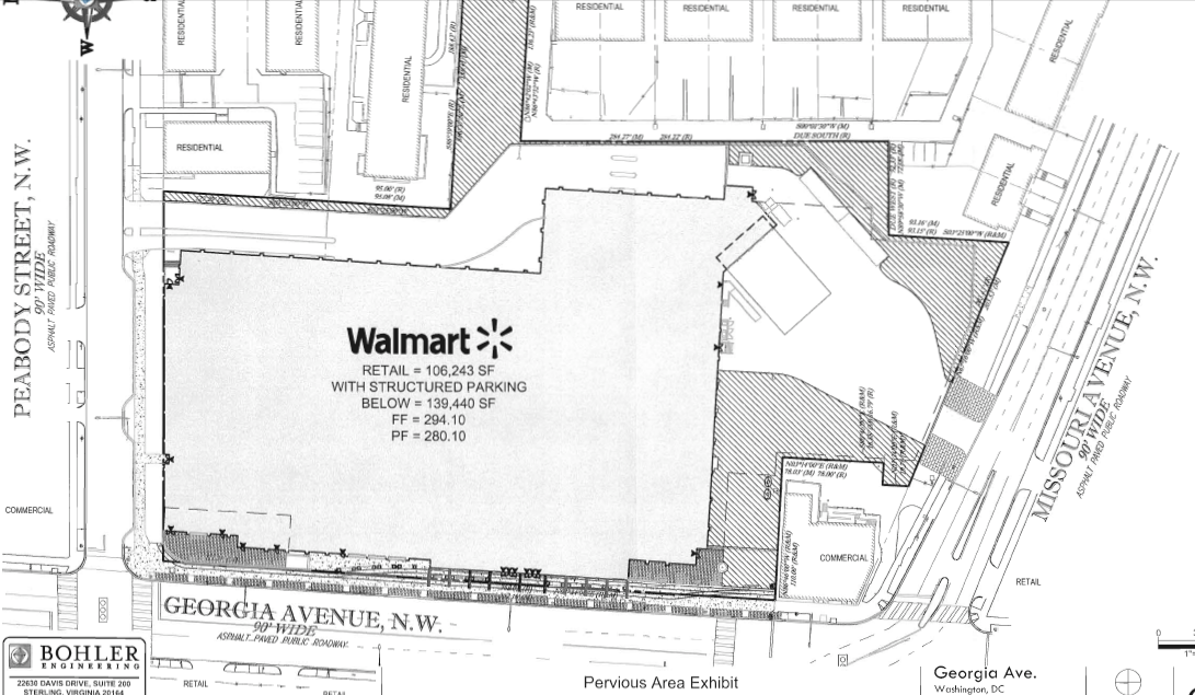 Georgia Avenue Walmart Plan Hits Speedbump