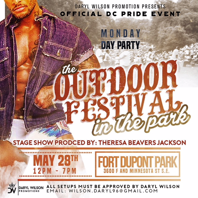 The Outdoor Fetival in the Park