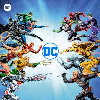 spotify DC COMICS