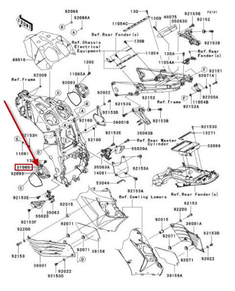 NEU: Luftfilter Abdeckung Kawasaki ZZR 1400 ABS Cover