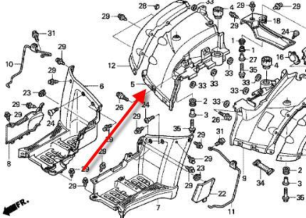 NEU: Hinterradabdeckung Honda TRX 650 FA Rincon, TRX 680