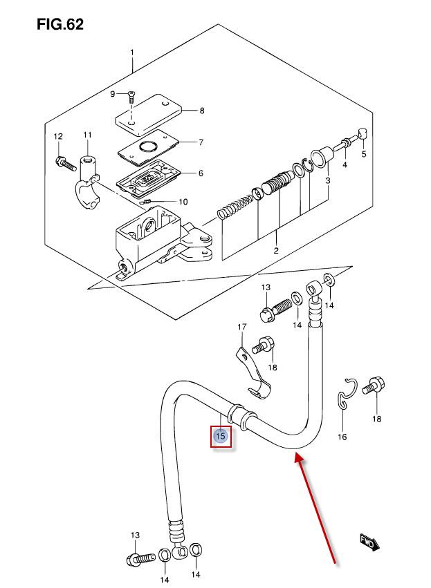 NEW: Clutch Line Suzuki DL 1000 V-Strom Clutch Pants DL