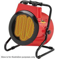 Electric Fan Heaters 98 Audi A4 Fuse Diagram Clarke Devil 7003 3kw Industrial Heater Machine Mart