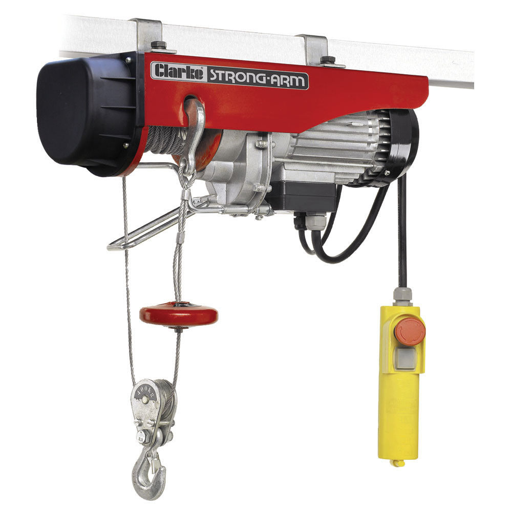medium resolution of clarke ch4000b 400kg electric power hoist