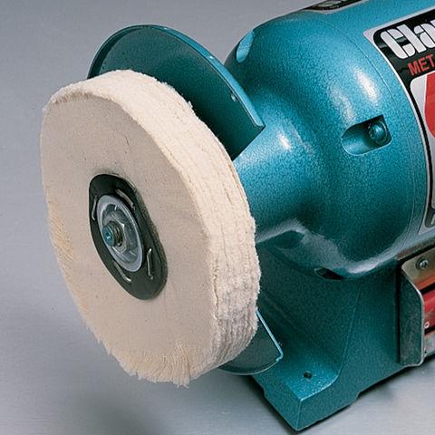 6 Quot Polishing Mop 40 Fold Pure Cotton Machine Mart
