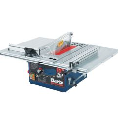 clarke cts10d 10 254mm table saw [ 1000 x 1000 Pixel ]