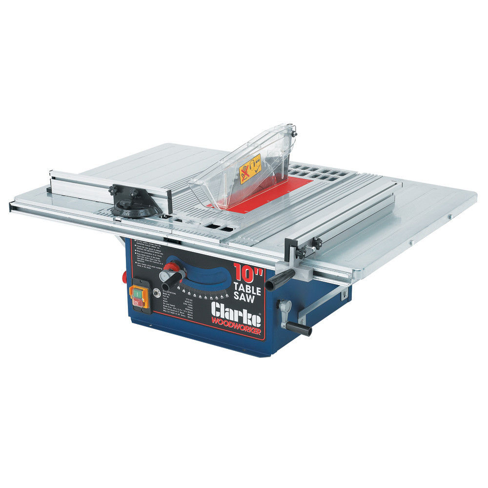 medium resolution of clarke cts10d 10 254mm table saw