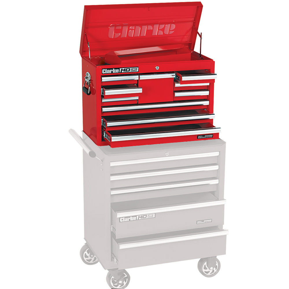 clarke cbb210b hd plus 10 drawer tool chest