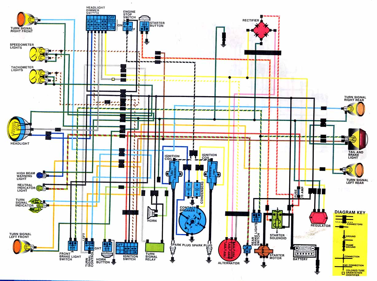 110 Quad Wiring Diagram For Ignition Switch Honda Cb350 Dc Classic Cycles