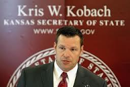 kris kobach kansas secretary of state