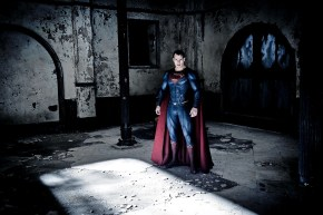 FIRST WE GET SUPERMAN IN WHAT LOOKS LIKE WAYNE MANOR