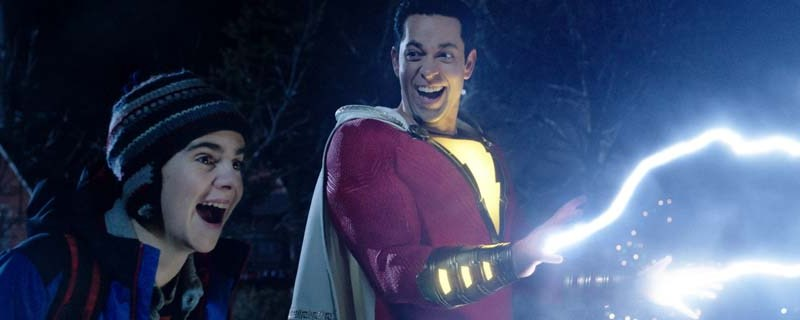 Shazam! First Reviews has it at 97% Fresh on the Rotten