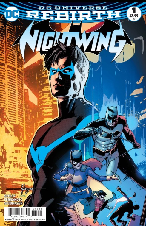 Nightwing 1 Cover