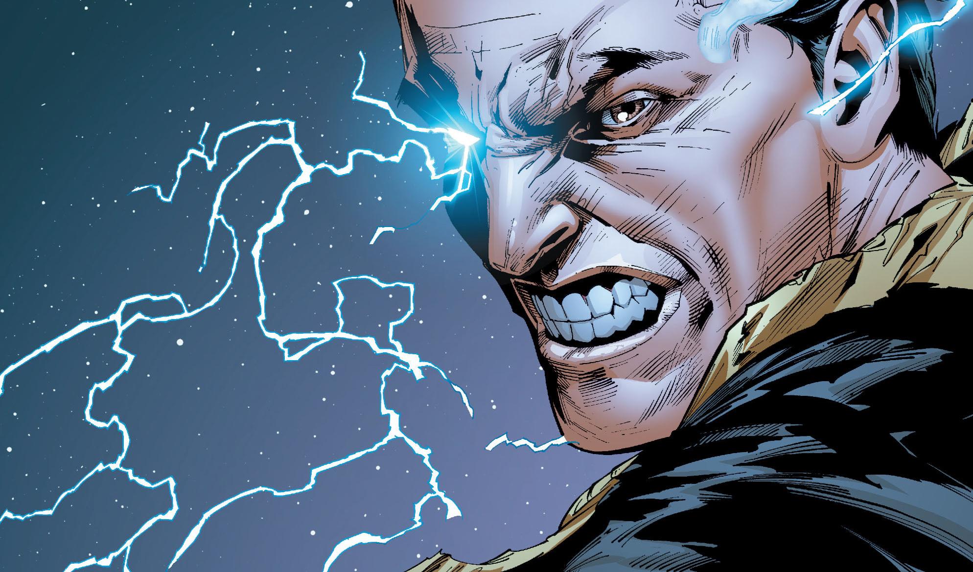 Black Adam The Rock DC Comics News