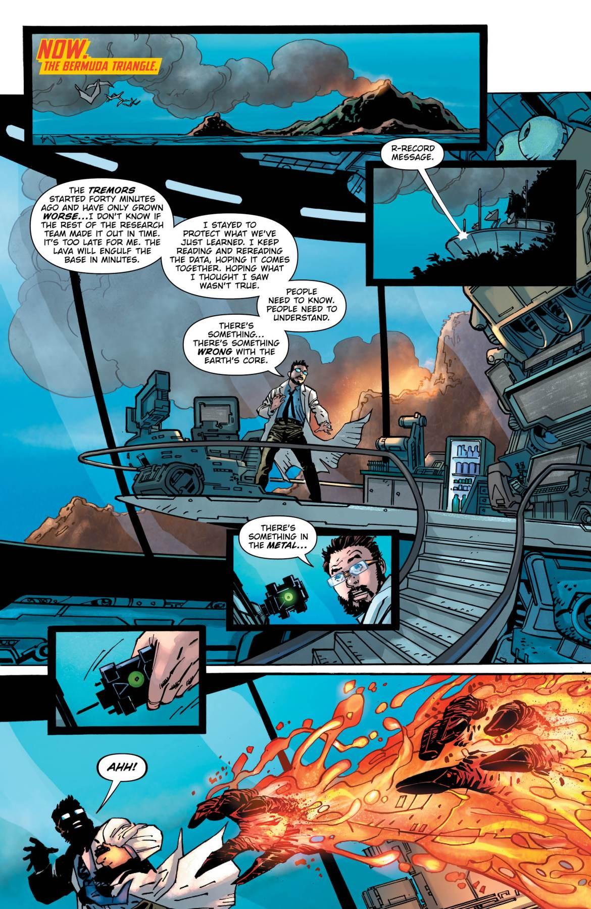 Dark Days The Forge 3 -DC Comics News