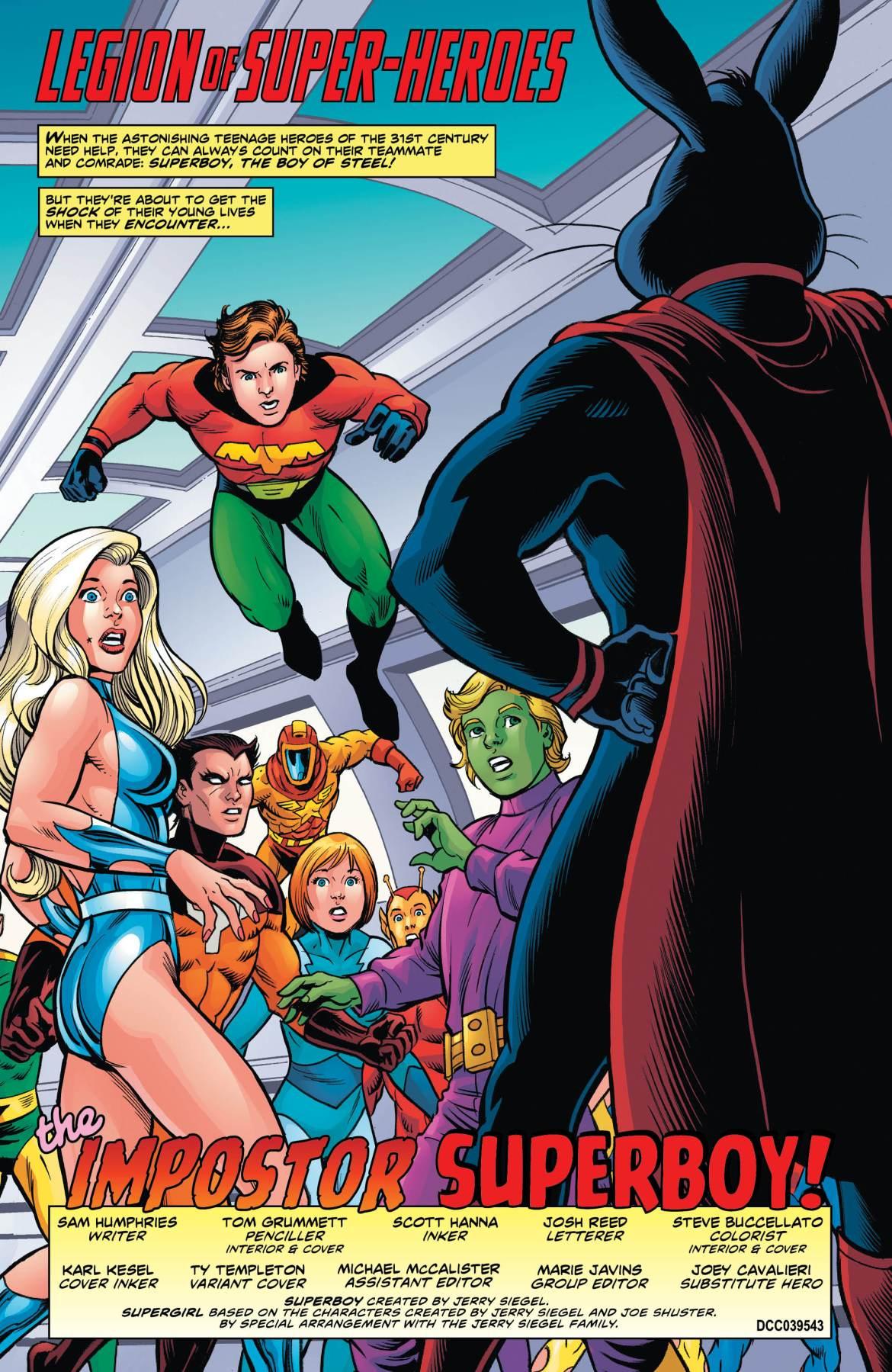 Legion of Super-Heroes Bugs Bunny 1 - DC Comics News