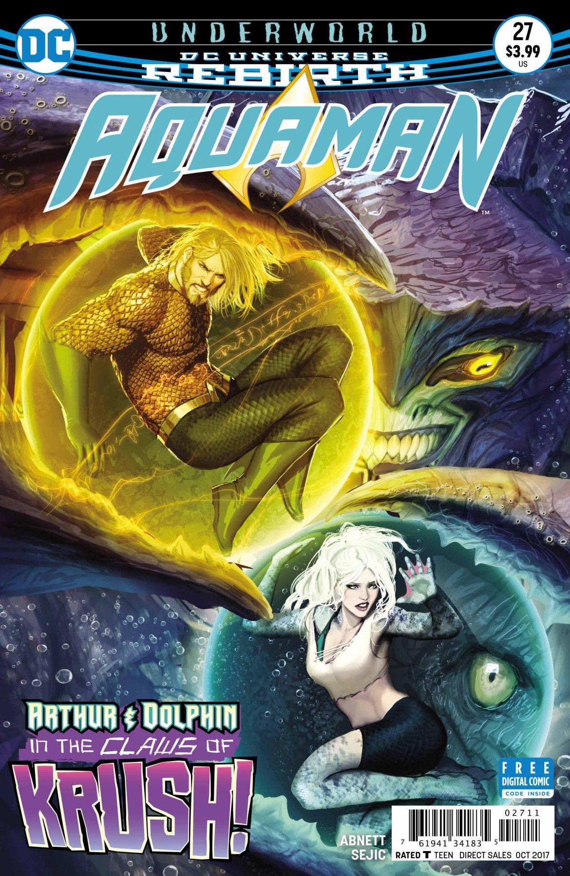 Aquaman Cover - DC Comics News