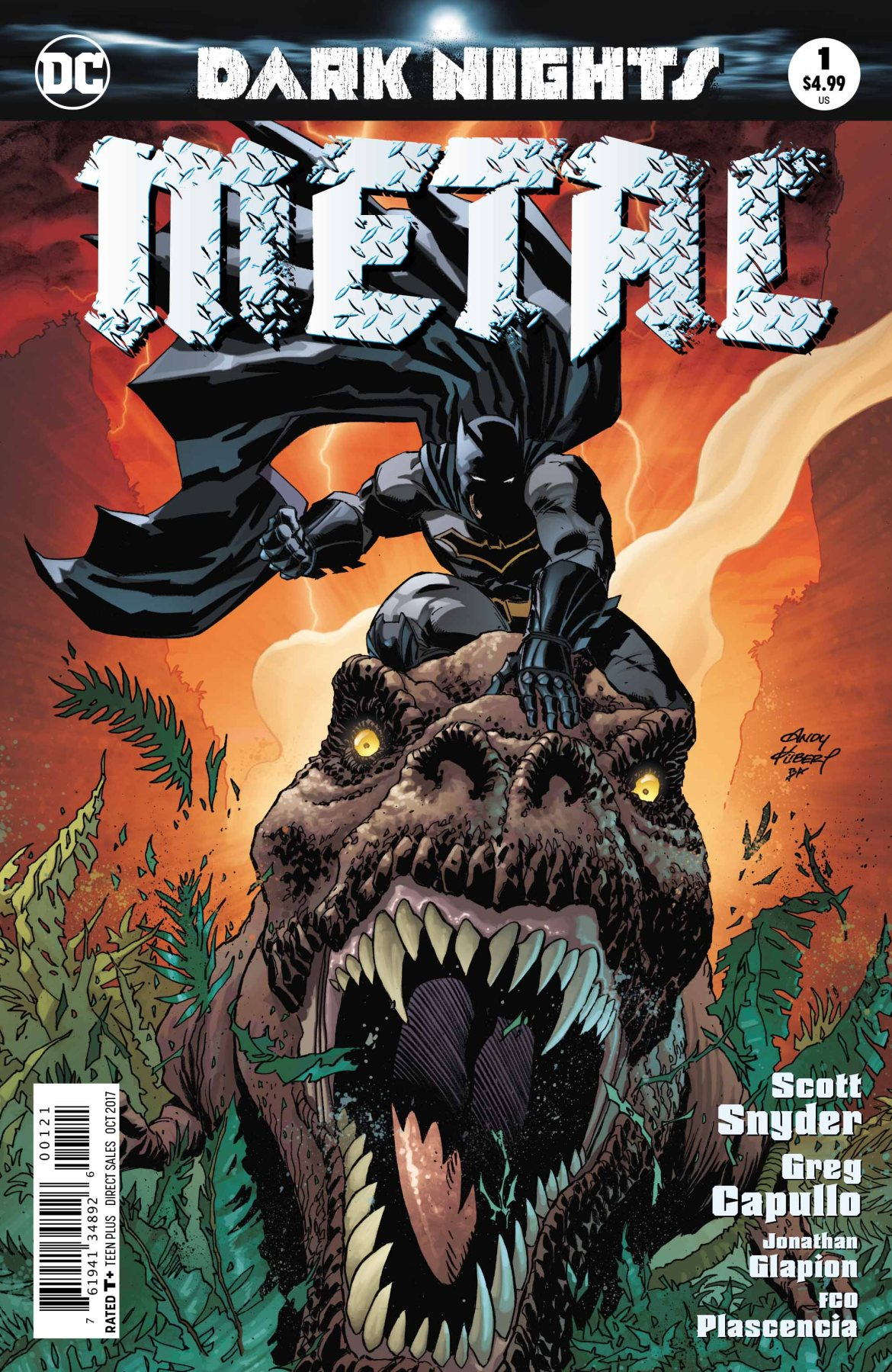 Dark Nights Metal Variant Cover - DC Comics News