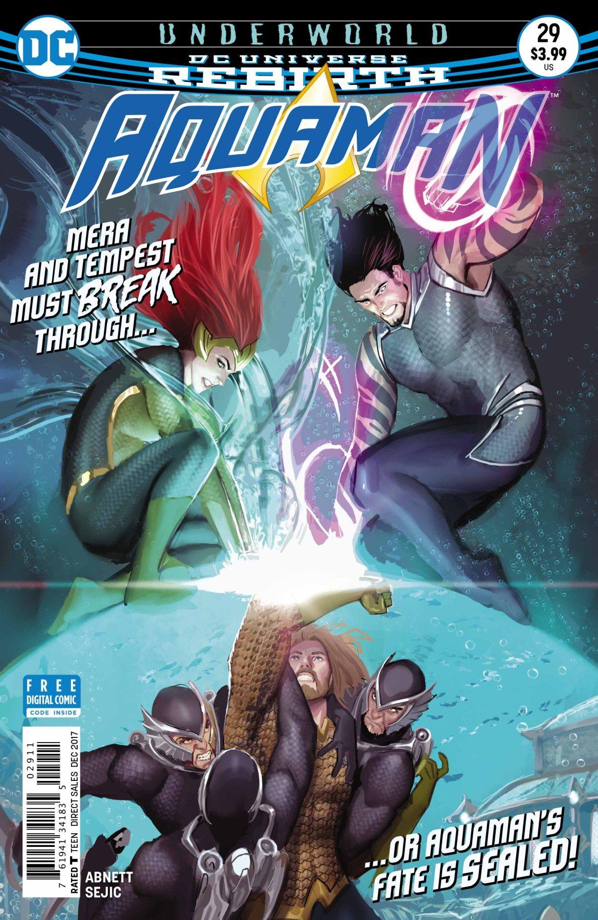 Aquaman 29 Cover - DC Comics News